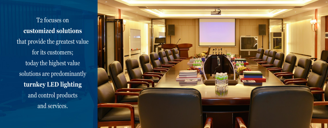 LED Lighting Office Boardroom
